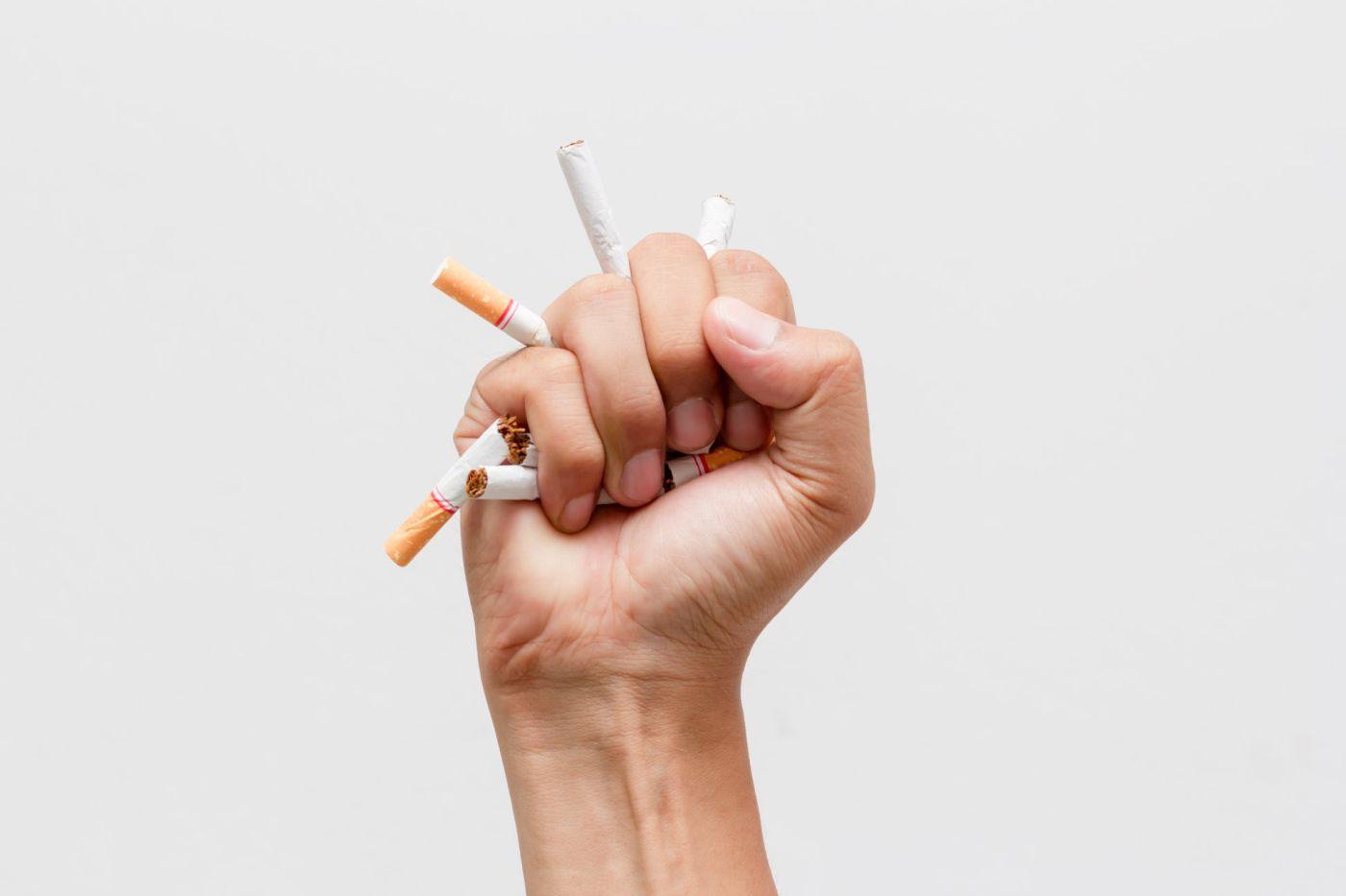 dohányzásról való leszokás tüdőrák