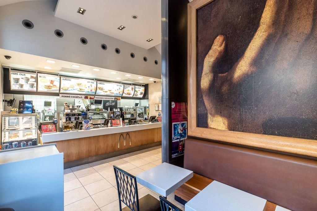 Az étterem felújítás előtt